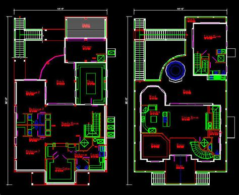 story house floor plans cad house plans