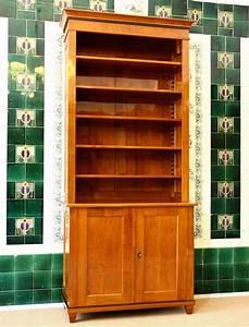Bücherregale Mit Türen : b cherregal kirsche mit t ren massivholz 240x100x45cm ausstellungsst ck ebay ~ Markanthonyermac.com Haus und Dekorationen