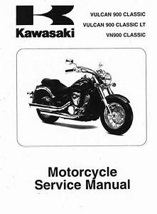 2015 Kawasaki Vulcan 900 Shop Manual
