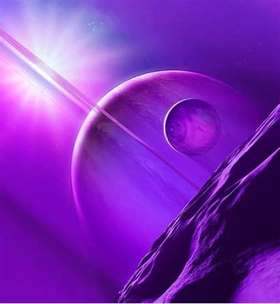 Wallpapers Honor Magic Themes Theme Ardroiding Purple