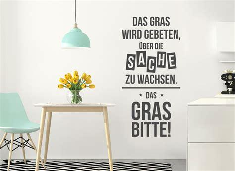 Fliesenaufkleber Gras by Wandtattoo Spruch Das Gras Wird Gebeten W5406 Spr 252 Che