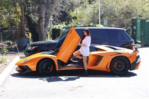 Kylie jenner took to social media earlier this week to show off her new ride, a $3 million bugatti chiron, but quickly deleted the post after being it's the fastest car in the world and was the first to break the 300mph barrier. Pin by Agam Asolin on cars in 2020 | Kylie jenner car, Kylie jenner, Lamborghini aventador roadster