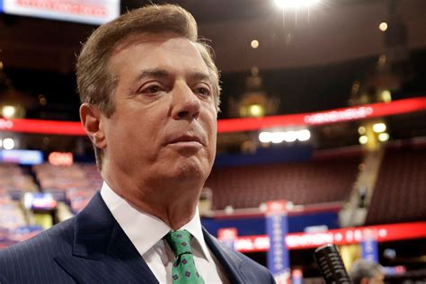 Manafort Pleads Not Guilty To Conspiracy And Money