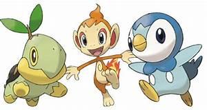 pokemon starters gen 4 images
