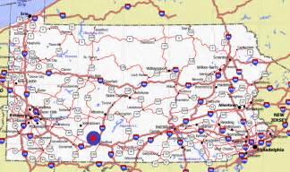 Pennsylvania Counties Map