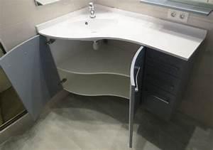 meuble vasque d angle salle de bain kirafes With meuble angle vasque salle de bain