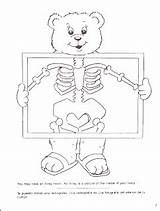 Ray Coloring Preschool Sprouts Clever Bear sketch template