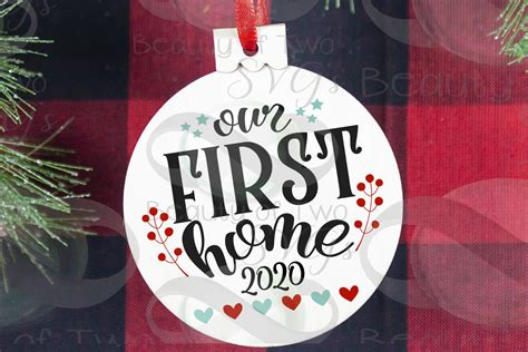 Jul 21, 2021 · i also love that there are so many free designs out there. Christmas Ornament Our first Home 2020 svg, Realtor svg ...
