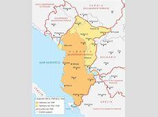 Albania Carta Geografica