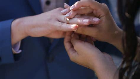 Taking Off Wedding Ring Woman Takes Her Diamond