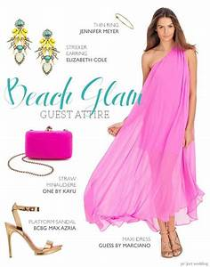 tropical beachy glam wedding guest outfit composite by With tropical wedding guest dresses
