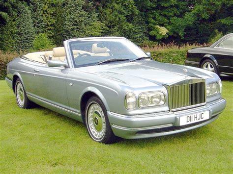 2001 Rolls Royce Corniche by 2001 Rolls Royce Corniche Information And Photos Momentcar