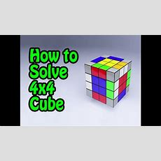 How To Solve 4x4 Rubik's Cube [tutorial] (by Cyclone Boys) Youtube