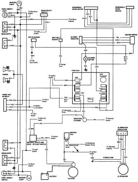 horn relay diagrame    chevelle ss