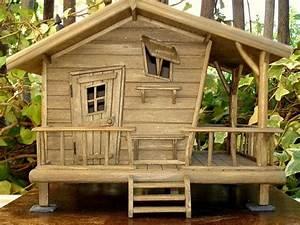 Cabanon En Bois : album cabane des bois sur pilotis cabane enfants ~ Mglfilm.com Idées de Décoration