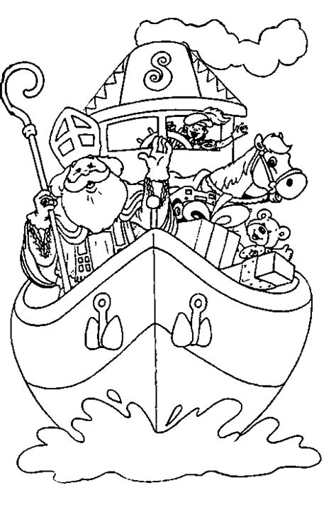 Kleurplaat Muziekpiet by Sinterklaas Kleurplaten Sinterklaas
