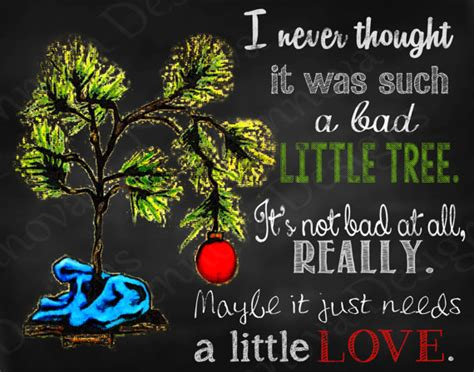 quotes about the charlie brown christmas tree quotesgram