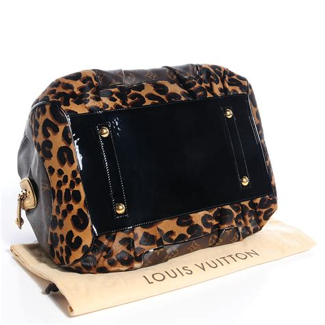 louis vuitton monogram leopard stephen bag