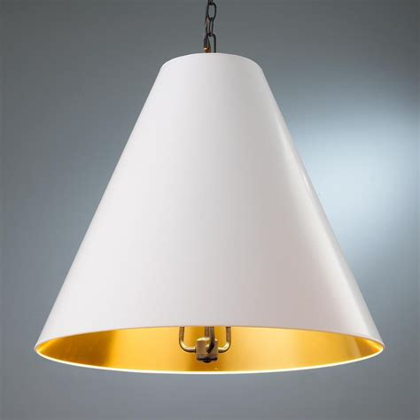 oversized cone paper shade pendant chandelier shades