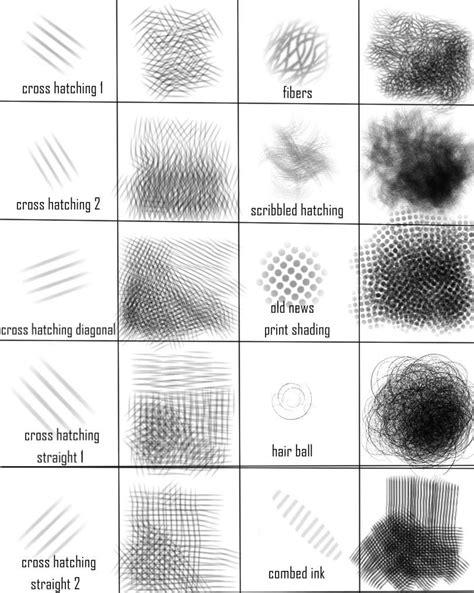 sketchbook pro cross hatching brush set