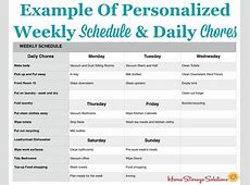 How To Make A Personalized Daily Cleaning Checklist For