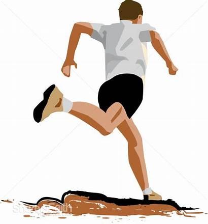 Jogging Clipart Clip Runner Male Figure Activity