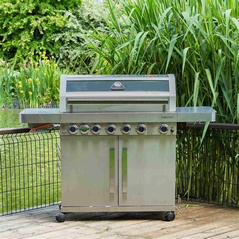 gourmet  burner stainless steel barbecue garden street