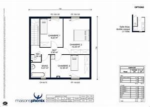 Plan Facade Maison : plan maison 8 metres de facade ~ Melissatoandfro.com Idées de Décoration
