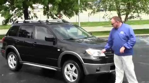 Mitsubishi Of Omaha by Used 2005 Mitsubishi Outlander 4wd For Sale At Honda Cars