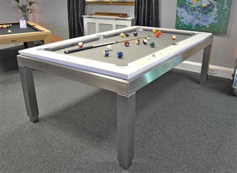 white pool table dining table bilhares carrinho new york luxury pool table