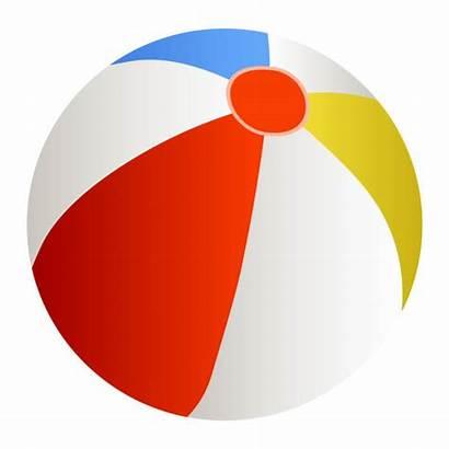 Ball Beach Vector Illustration Clipart Clip Illustrations