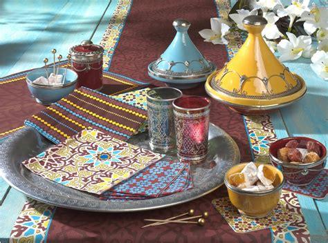 marocain la chambre chambre orientale bleue