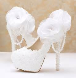 chaussure argentã pour mariage chaussure mariage ch076 blanc