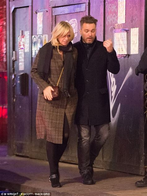 Zoe Ball pictured on date in London | Daily Mail Online