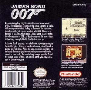 James Bond 007 Box Shot For Game Boy Gamefaqs
