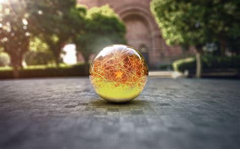 Dragon Ball, Digital Art, Marble, Sphere Wallpapers Hd