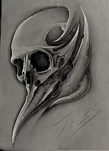 Dessin Tete De Mort Avec Rose : tete de mort dessin ~ Melissatoandfro.com Idées de Décoration
