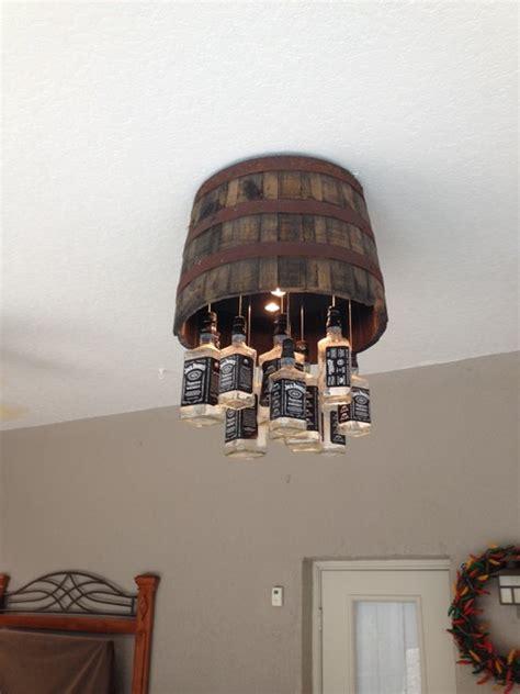whiskey barrel chandelier