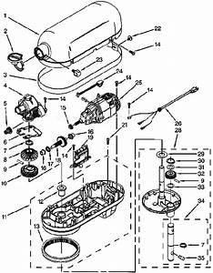 Kitchenaid Professional 6 Qt  Stand Mixer