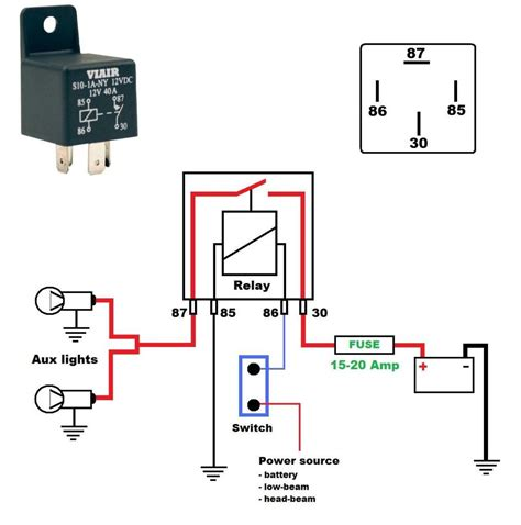 2 Way Lamp Switch by How To Wire Auxiliary Lights Harley Davidson Forums