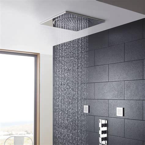 ceiling tile shower head