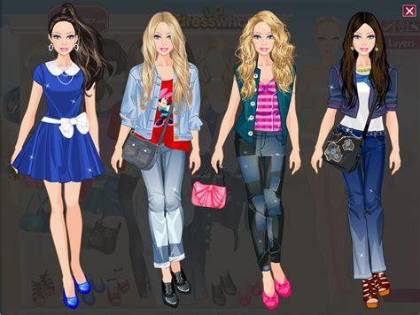 Juegos De Vestir Barbies De Paseo