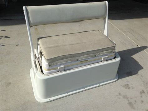 Boat Cooler With Seat by 90qt Cooler Seat With Backrest Saltwater Fishing Forums