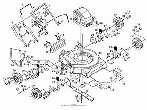 Poulan Pp722ska Mower Parts Diagram For Mower Assembly