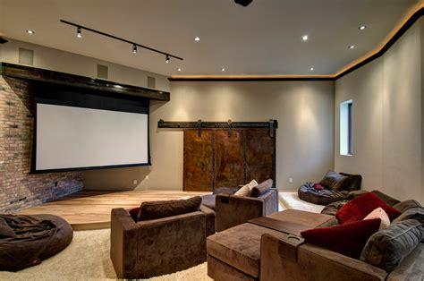 retractable screen door home theater contemporary