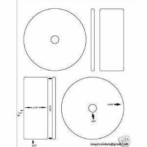 Memorex Case Template Amazon Com 200 Cd Dvd Labels Matte Memorex Full Face