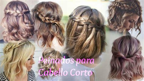 Peinados para Cabello Corto 2017 Ale Secrets YouTube