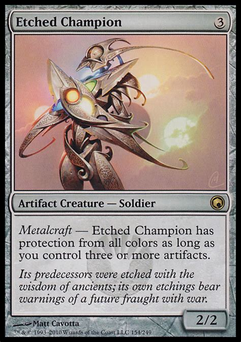 Artifact Deck Magic Duels by Etched Chion Artifact Cards Mtg Salvation