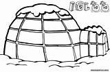 Igloo Template Sketch sketch template