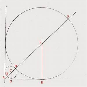 Web Optimisation  Maths And Puzzles  Geometry  A Circle In